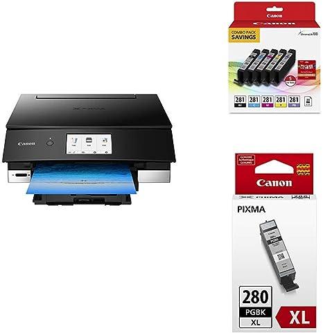 Amazon.com: Canon TS8220 Impresora de fotos inalámbrica todo ...