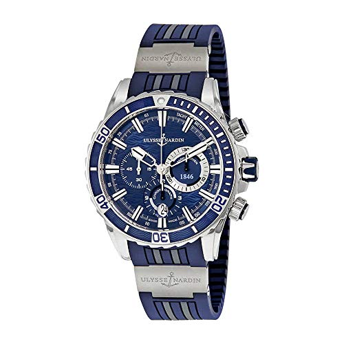 Ulysse Nardin Marine Diver Automatic Mens Chronograph Watch 1503-151-3/93 (Ulysse Nardin Mens Marine)