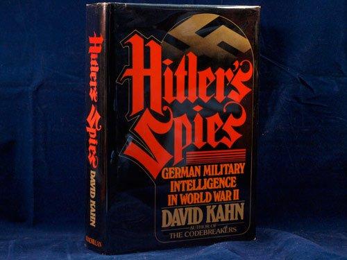 Hitler's Spies: German Military Intelligence in World War II pdf epub