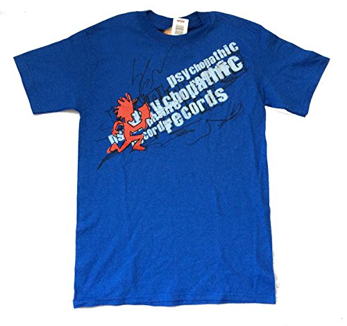 Insane Clown Posse Scribble Psychopathic Records Blue T Shirt (S)