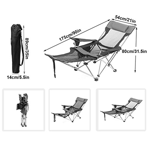 Chaises Compact Hm Chaise Longue amp;dx Exterieures Pliantes Portable kZPiuX