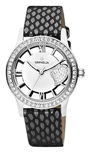 ORPHELIA Ricci Women's Black Leather watch-OR11704