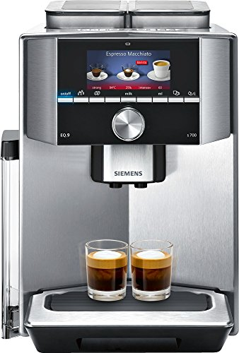 Siemens EQ.9 TI907201RW Super Fully Automatic Espresso Ma...