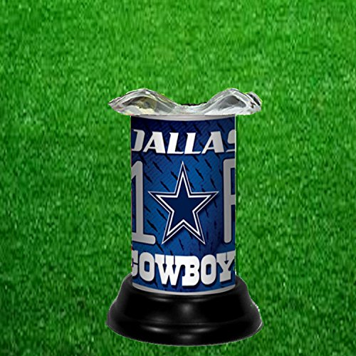Dallas Cowboys Candle - DALLAS COWBOYS TART WARMER - FRAGRANCE LAMP - BY TAGZ SPORTS