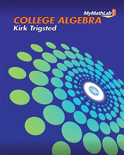 College Algebra MyMathLab Access Code