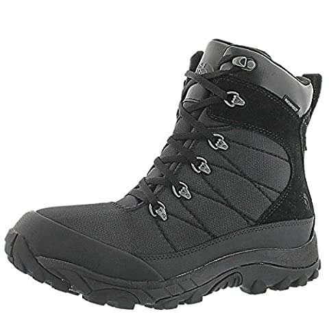 The North Face Chilkat Leather Insulated Boot - Men's Tnf Black/Tnf Black, 12.0