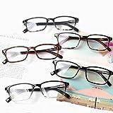 Reading Glasses 5 Pack Spring Hinge Readers for