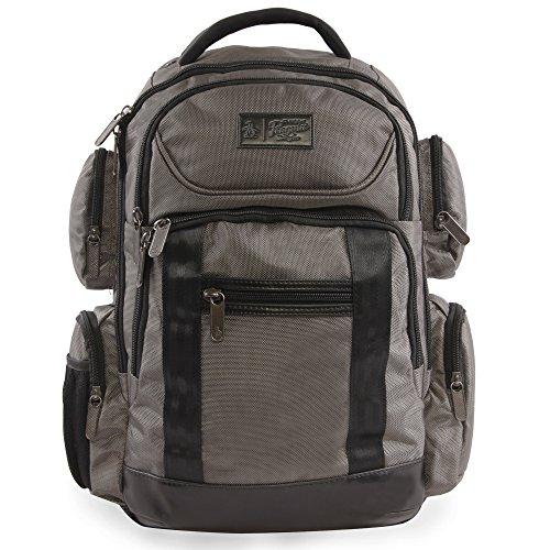 51cIQOOXAUL - ORIGINAL PENGUIN Odell 9 Pocket Laptop/Tablet Backpack Briefcase, Charcoal, One Size