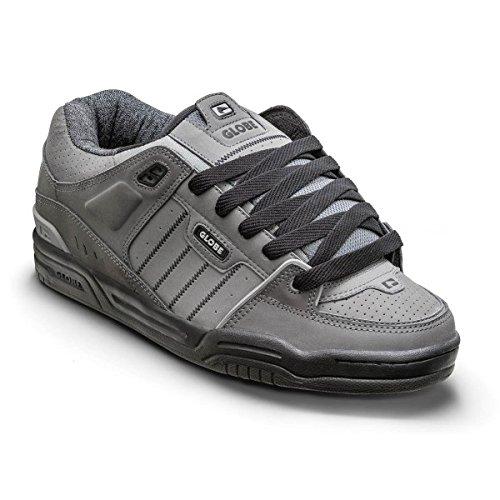 Globe Fusion, Zapatillas de Skateboarding Unisex Adulto Gris (Charcoal / Knit)