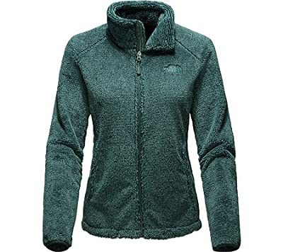 The North Face Osito 2 Jacket Women's Balsam Green Stripe Small