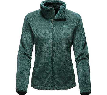 North Face Osito 2 Jacket Women's Balsam Green Stripe Large