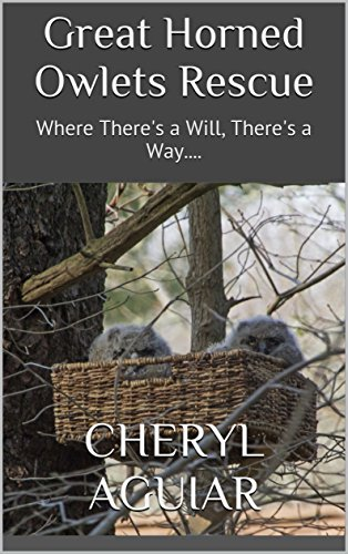 Great Horned Owlets Rescue: Where There's a Will, There's a Way.... by [Aguiar, Cheryl]