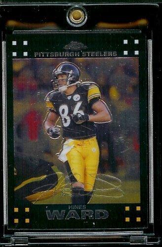 2007 Topps Chrome # TC84 Hines Ward - NFL Football Cards