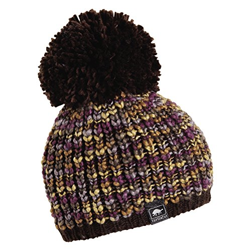 Turtle Fur Yvonne Women's Variegated Yarn Fleece Lined Pom Winter Hat Earth ()