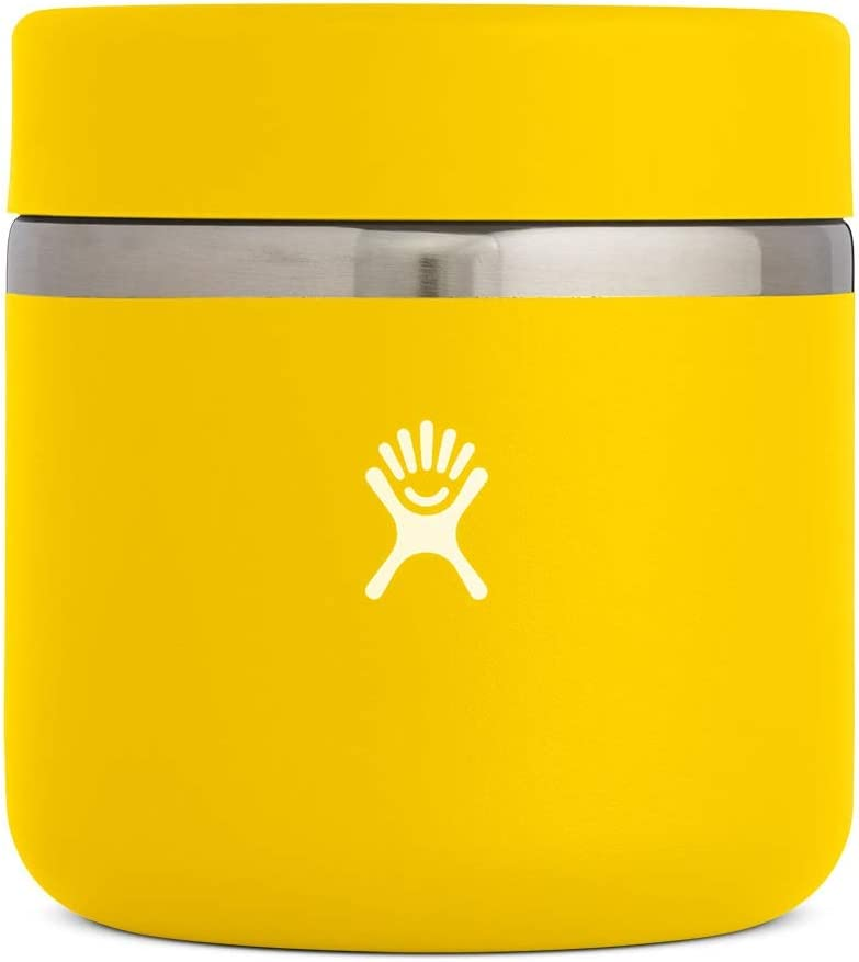 Hydro Flask Food Thermos Jar - Stainless Steel & Vacuum Insulated - Leak Proof Cap - 20 oz, Sunflower