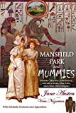 Front cover for the book Mansfield Park and Mummies by Vera Nazarian