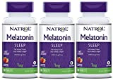 Natrol Melatonin 1mg Fast Dissolve Tablets, Strawberry, 90-Count (Pack of 3)