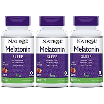 Amazon.com: Melatonin 1 mg Chewable Tablets - 100 ct: Health ...