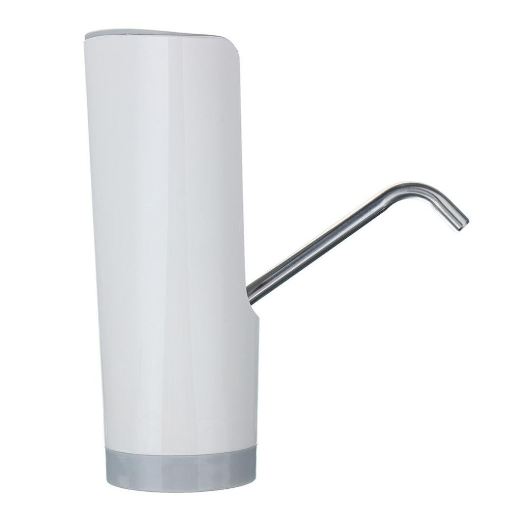 Sacow Water Pump Dispenser, Wireless Automatic Electric Gallon Bottle Drinking Water Pump Switch (White) by Sacow (Image #5)