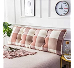 8x20x24inch Upholstered Triangular Wedge Cushion Sofa Bed Pillow Cushion Bed Rest Reading Pillow Backrest Positioning Support Pillow,Lumbar pad for Office Bed Sofa-A 20x50x60cm