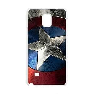Captain America Design Hard Case Cover Protector For Samsung Galaxy Note4