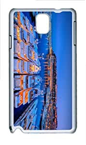 sale covers Yacht Harbour at Night PC White case/cover for Samsung Galaxy Note 3 N9000