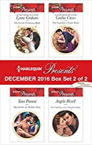 HARLEQUIN PRESENTS DECEMBER 2016 - BOX SET 2 OF 2: THE GREEK'S CHRISTMAS BRIDE\MARRIED FOR THE SHEIKH'S DUTY\THE GUARDIAN'S VIRGIN WARD\SURRENDERING TO THE VENGEFUL ITALIAN