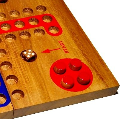 MONKEY POD GAMES Wooden Ludo - Large for sale  Delivered anywhere in USA