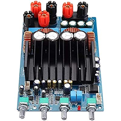 ZhanPing TAS5630 2 1300W 150W 150W Digital Power Can Adjust Output Volume Amplifier Board Subwoofer Amplifier plate