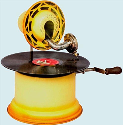 安い割引 骨董品世界アンティーク古い元PhonographマシンデスクテーブルCollectible Horn pre-90 Horn awusahb Gramophone awusahb 014 014 B073SZW9B7, ミナミサクグン:437d23ca --- mrplusfm.net