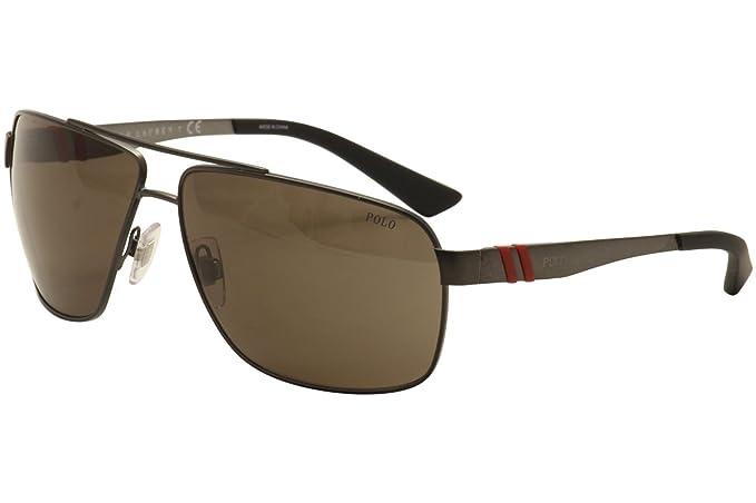 Ralph Lauren POLO 0PH3088 Gafas de sol, Matte Dark Gunmetal ...