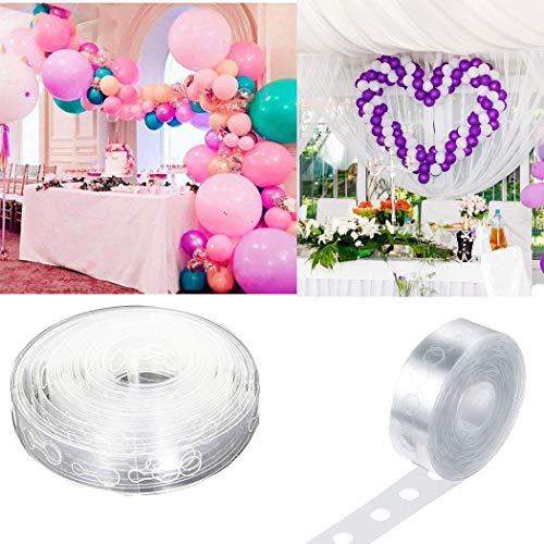 Kindsells Balloon Arch Garland Decorating Strip DIY Balloon Tape Tying Tool Balloons]()