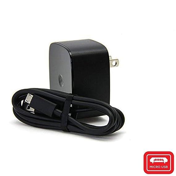 a7e7a51ae28 Motorola TurboPower 15 Cargador de Pared - SPN5864B con Cable de Datos/Carga  Original: Amazon.com.mx: Electrónicos