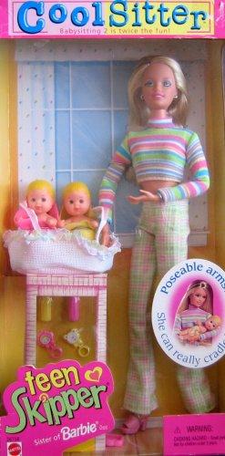 Barbie Cool Sitter TEEN SKIPPER Doll - Babysitting 2 is Twice the Fun! (1998) ()