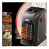 US 400W Mini Handy Wall-Outlet Heater Electric Air Radiator Home Furnace Warmer- Sold by Soigne and Swank!