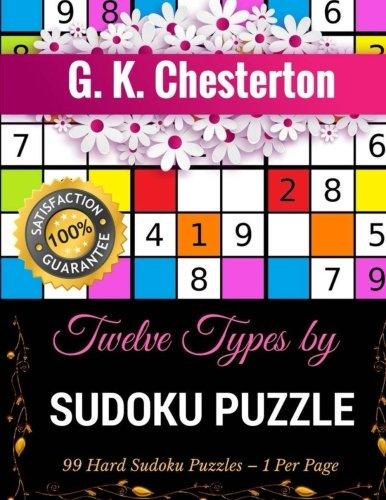 Download Twelve Types: Sudoku Puzzle (99 Hard Sudoku Puzzles - 1 Per Page) PDF