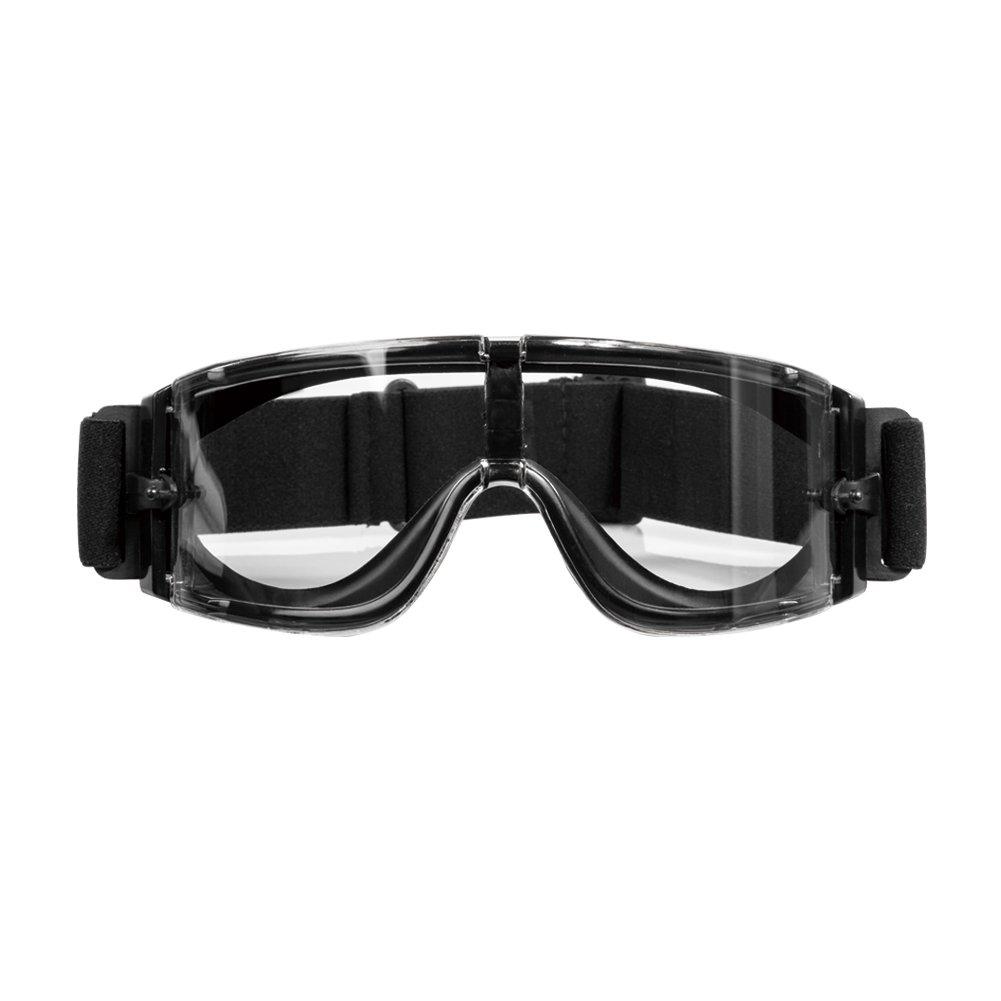 1T Anti-Fog Protección Gafas Con Lente paño limpiador para Wargame/Airsoft, negro