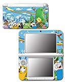 Adventure Time Jake Finn Princess Bubblegum Marceline Video Game Vinyl Decal Skin Sticker Cover for Original Nintendo 3DS XL System
