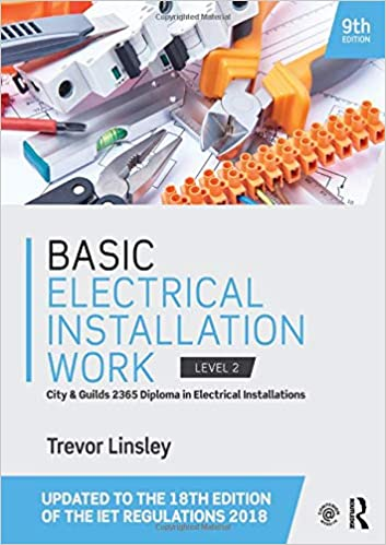 Basic Electrical Installation Work: Amazon.es: Trevor ... on electrical wiring, power cord, electrical maintenance, electrical conduit, extension cord, electrical testing, electrical designing, earthing system, electrical doors, electrical parts identification, electric power transmission, circuit breaker, electrical work, ground and neutral, alternating current, electrical architecture, three-phase electric power, electrical spec sheet, electrical components, electrical training, junction box, electrical bonding, national electrical code, distribution board, wiring diagram, knob and tube wiring, electric motor, electrical engineering, electrical sizes, electrical appliances, electrical energy, power cable, electrical transformer outside, electrical design drawings, electrical inspection, electrical service,
