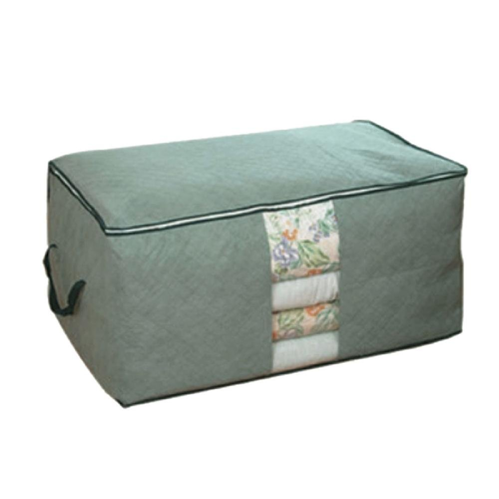 Storage Case ,IEason Clearance Sale! Bamboo charcoal clothing storage bag Quilt storage case Bedding organizer (Gray)