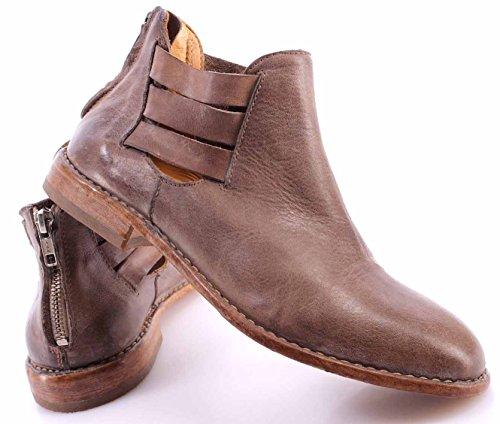 Vintage Leather Italia 2e Shoes Stivaletti Taupe Donna Desert 32506 Moma Cusna wzqnZ0nv