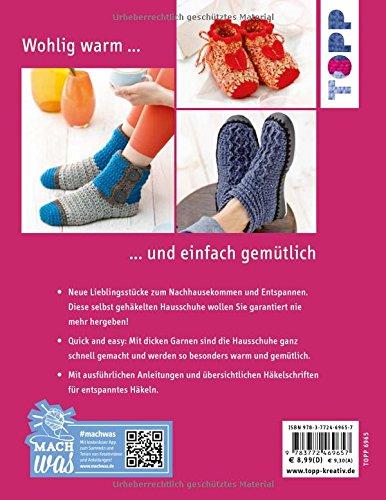 Hausschuhe Häkeln Kreativkompakt Warme Füße Für Die Ganze