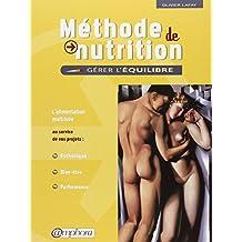 Méthode de nutrition: Alimentation maîtrisée au service de vos