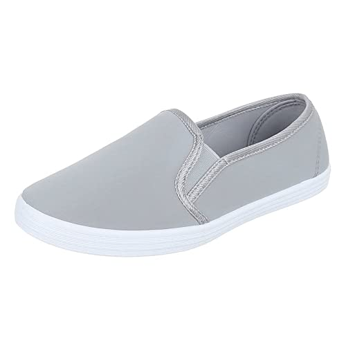 Slipper Damen Schuhe Low-Top Moderne Ital-Design Halbschuhe