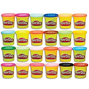 Best Epic Trends 51cIYdlR%2BcL._SS300_ Play-Doh Modeling Compound 24-Pack Case of Colors, Non-Toxic, Multi-Color, 3-Ounce Cans, Ages 2 and up (Amazon Exclusive…