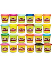Play-Doh 20383F01 Modeling Compound 24-Pack Case of Colors (Amazon Exclusive), Non-Toxic, Assorted Colors, 3-Ounce Cans