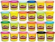 Play-Doh Modeling Compound 24-Pack Case of Colors, Non-Toxic, Multi-Color, 3-Ounce Cans, Ages 2 and up (Amazon