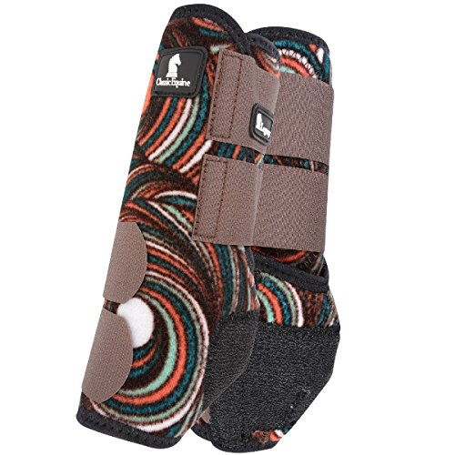 Used, Classic Rope Company Chocolate Swirl Hind Splint Boots for sale  Delivered anywhere in USA