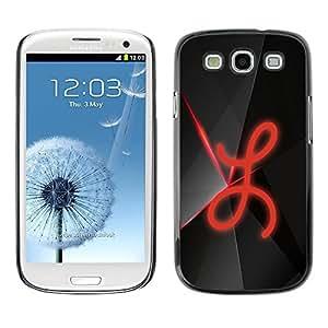 Be Good Phone Accessory // Dura Cáscara cubierta Protectora Caso Carcasa Funda de Protección para Samsung Galaxy S3 I9300 // L