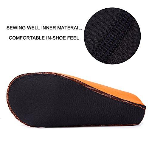 Sitaile Waterschoenen Voor Kinderen Dames Heren Barefoot Zwemschoenen Aqua Sokken Voor Strand Surf Swim Pool Yoga ... Orange
